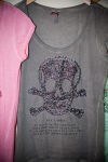 Secondhand Damen T-Shirt grau Key Largo
